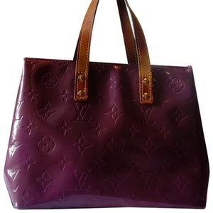 Authentic Louis Vuitton Purple Patent Leather